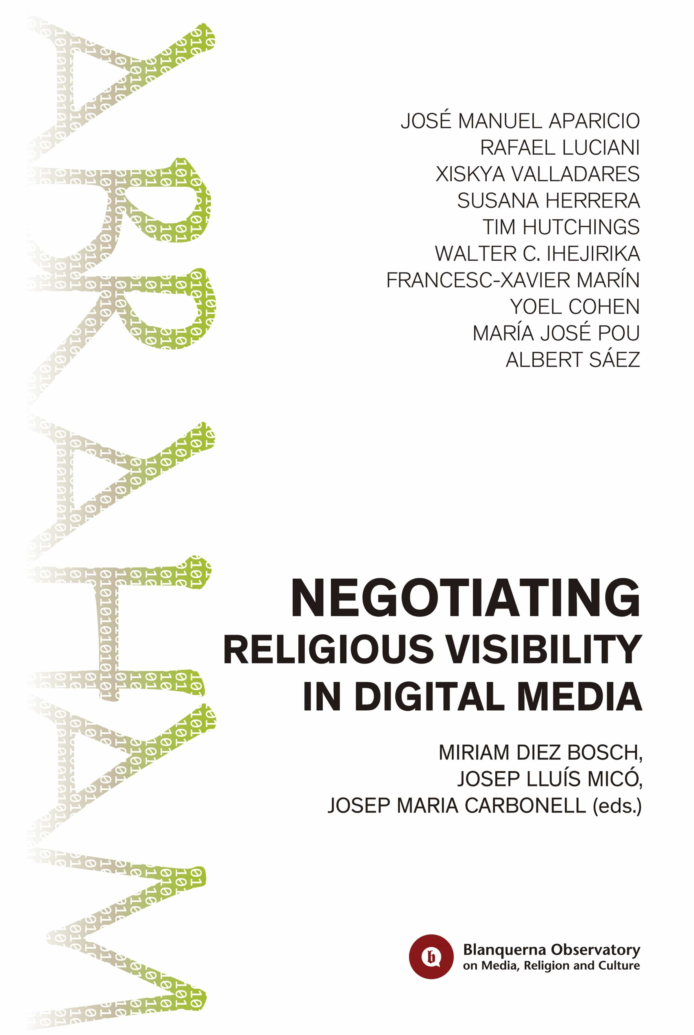 Negotiating Religious Visibility in Digital Media (ebook)