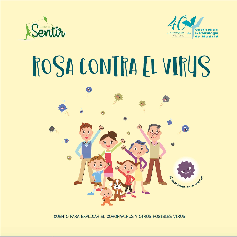 Rosa contra el virus - Literatura infantil y juvenil para tiempos difíciles