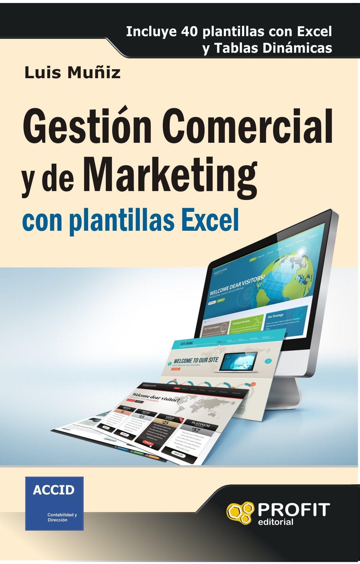 Gestión Comercial Y De Marketing Con Plantillas Excel (ebook ...