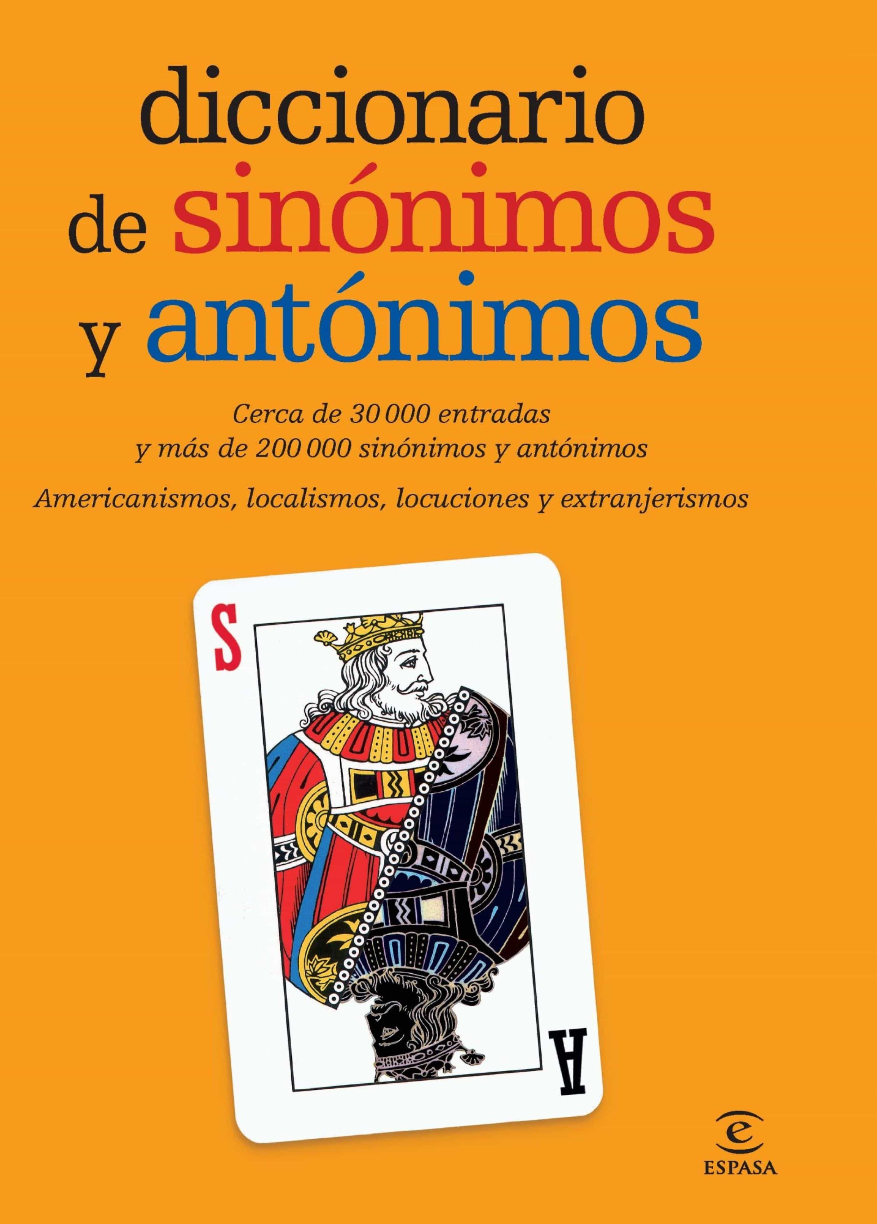 Diccionario De Sinónimos Y Antónimos (ebook) · Ebooks · El ... - photo#4