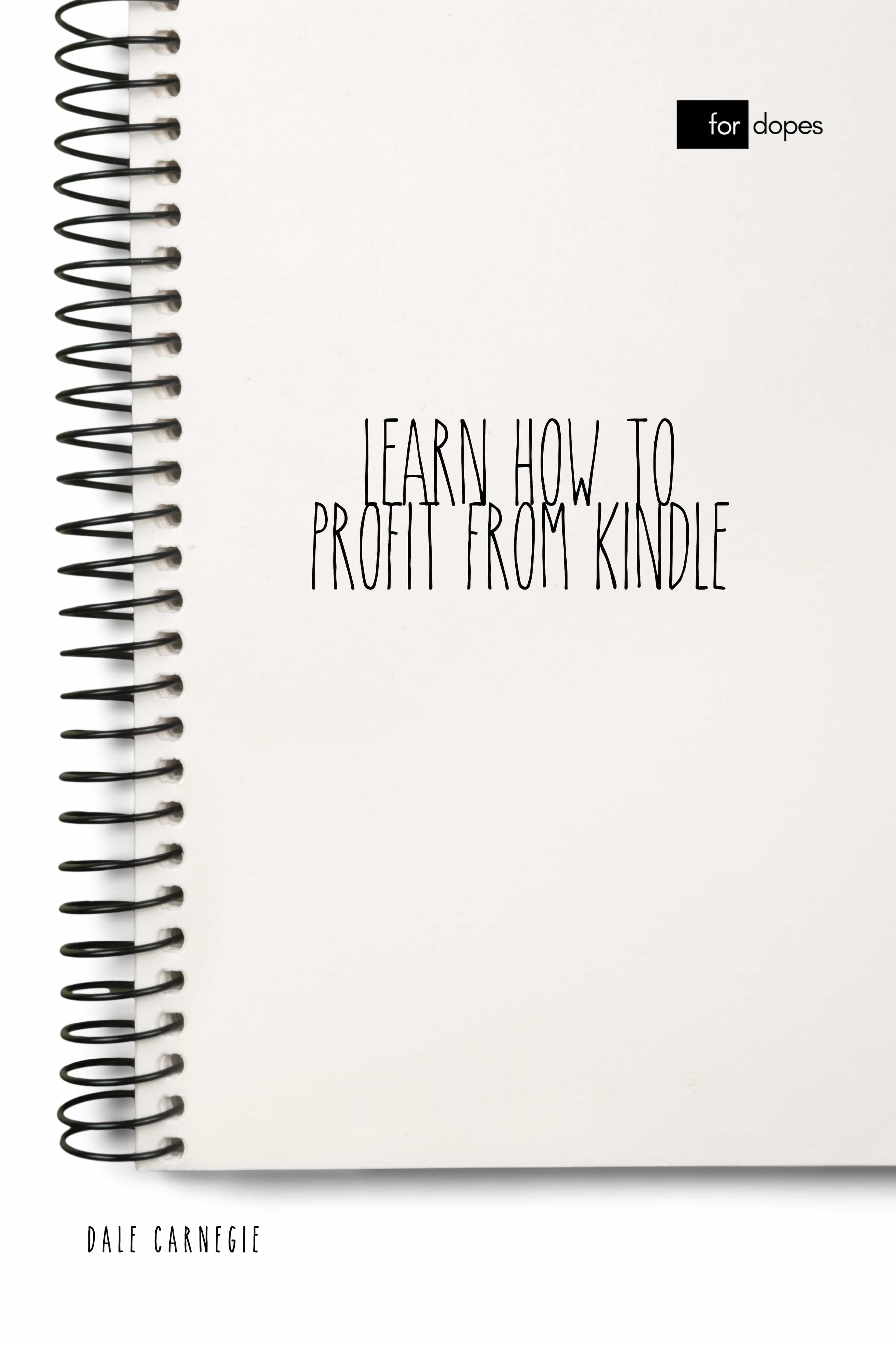 LEARN HOW TO PROFIT FROM KINDLE