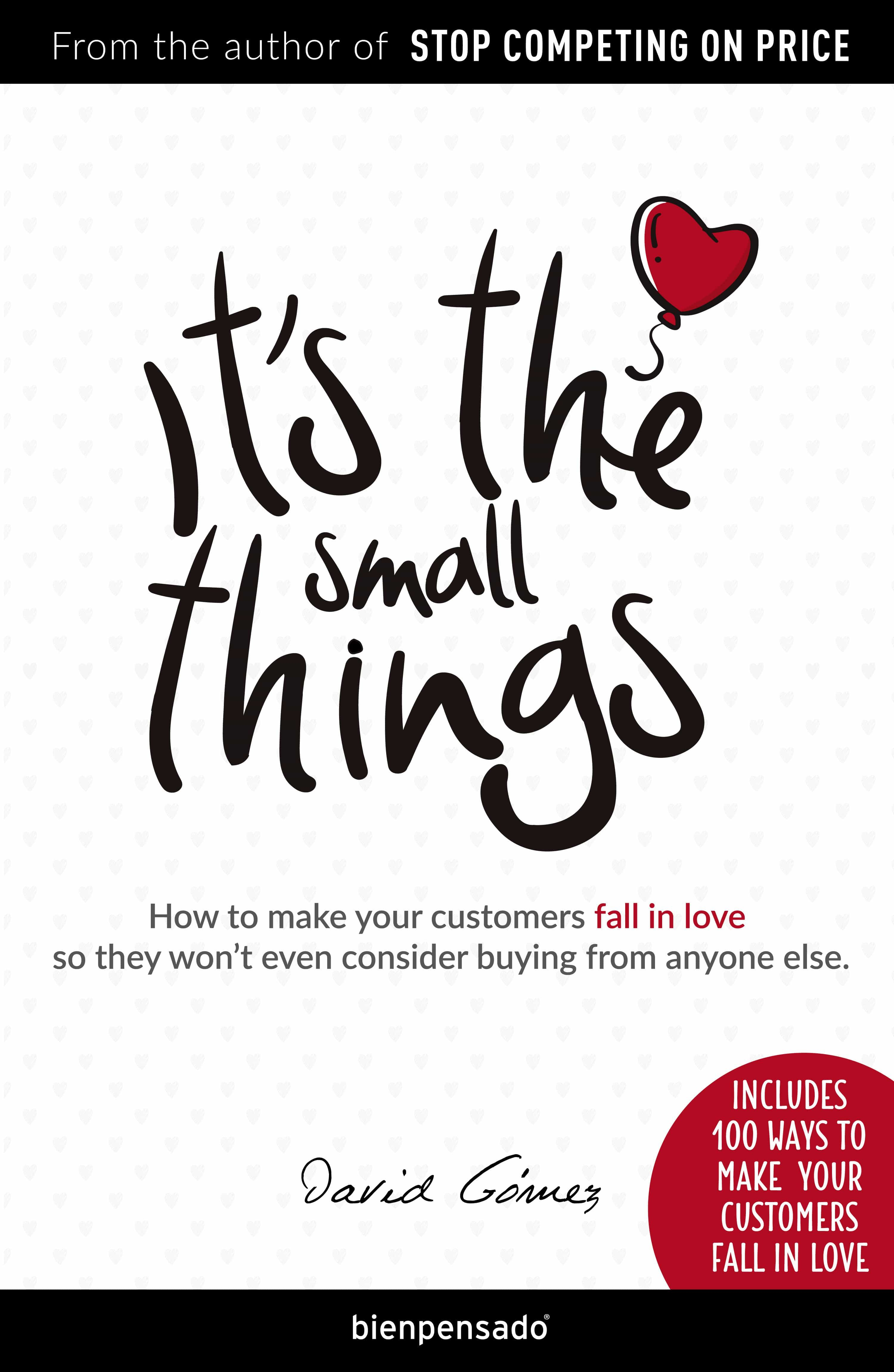 It's the small things (ebook)