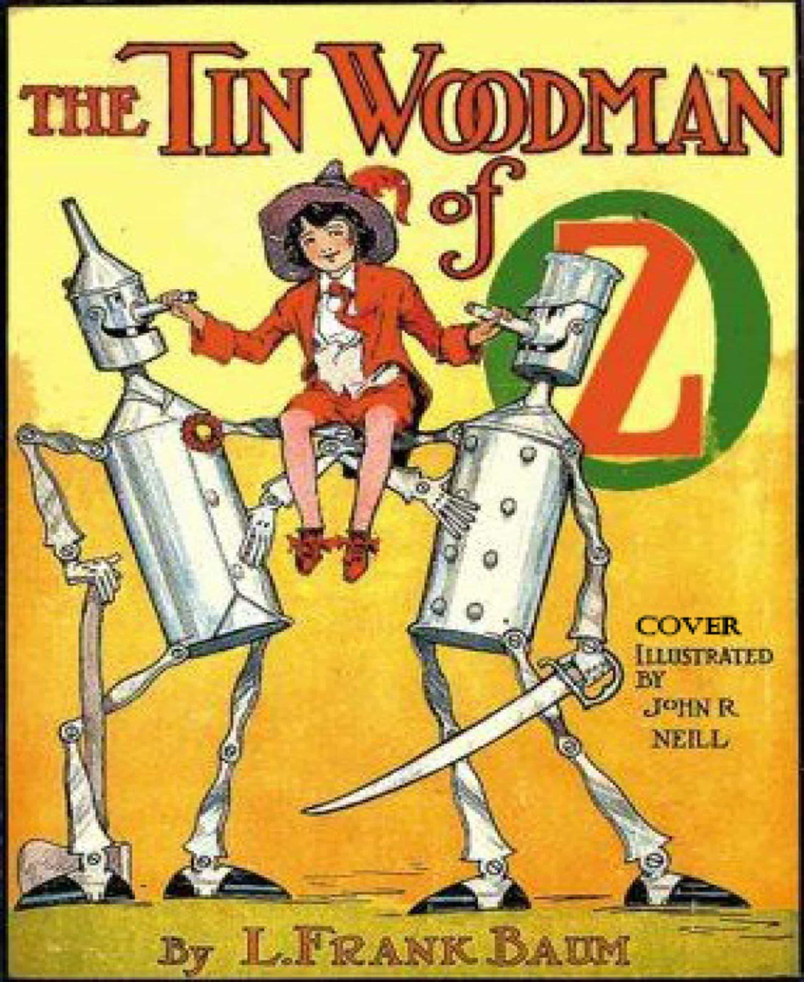 THE TIN WOODMAN OF OZ (ILLUSTRATED)
