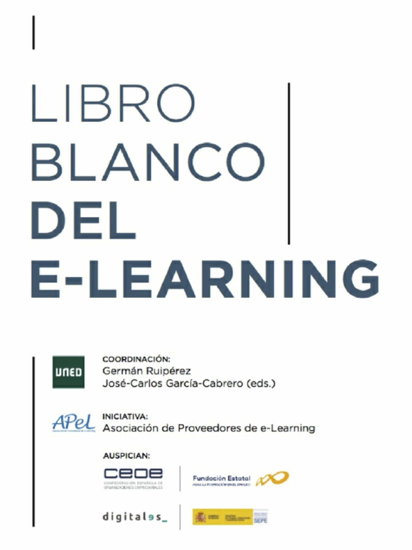 Libro blanco del e-learning (ebook)