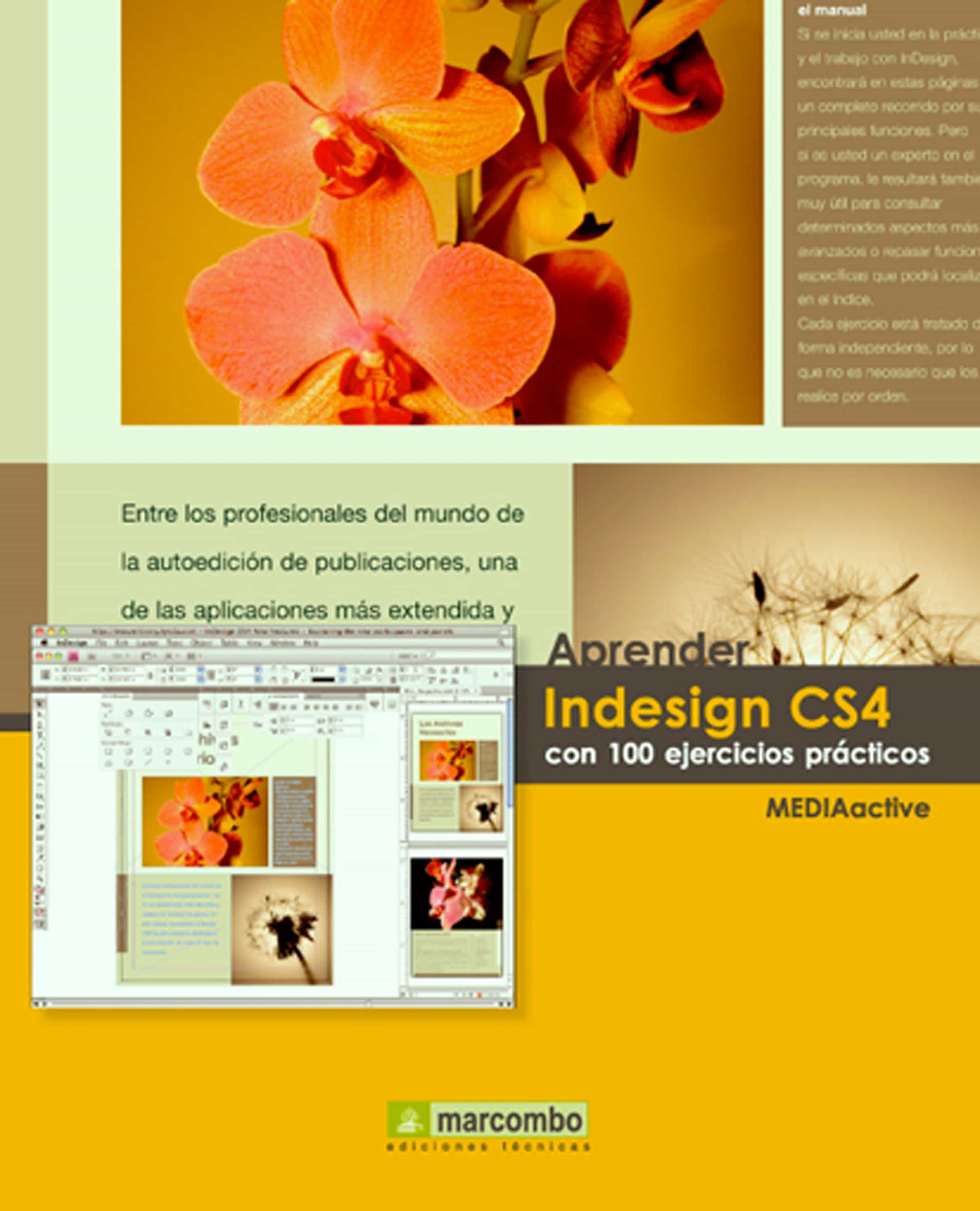 Aprender Indesign CS4 con 100 ejercicios prácticos (ebook)