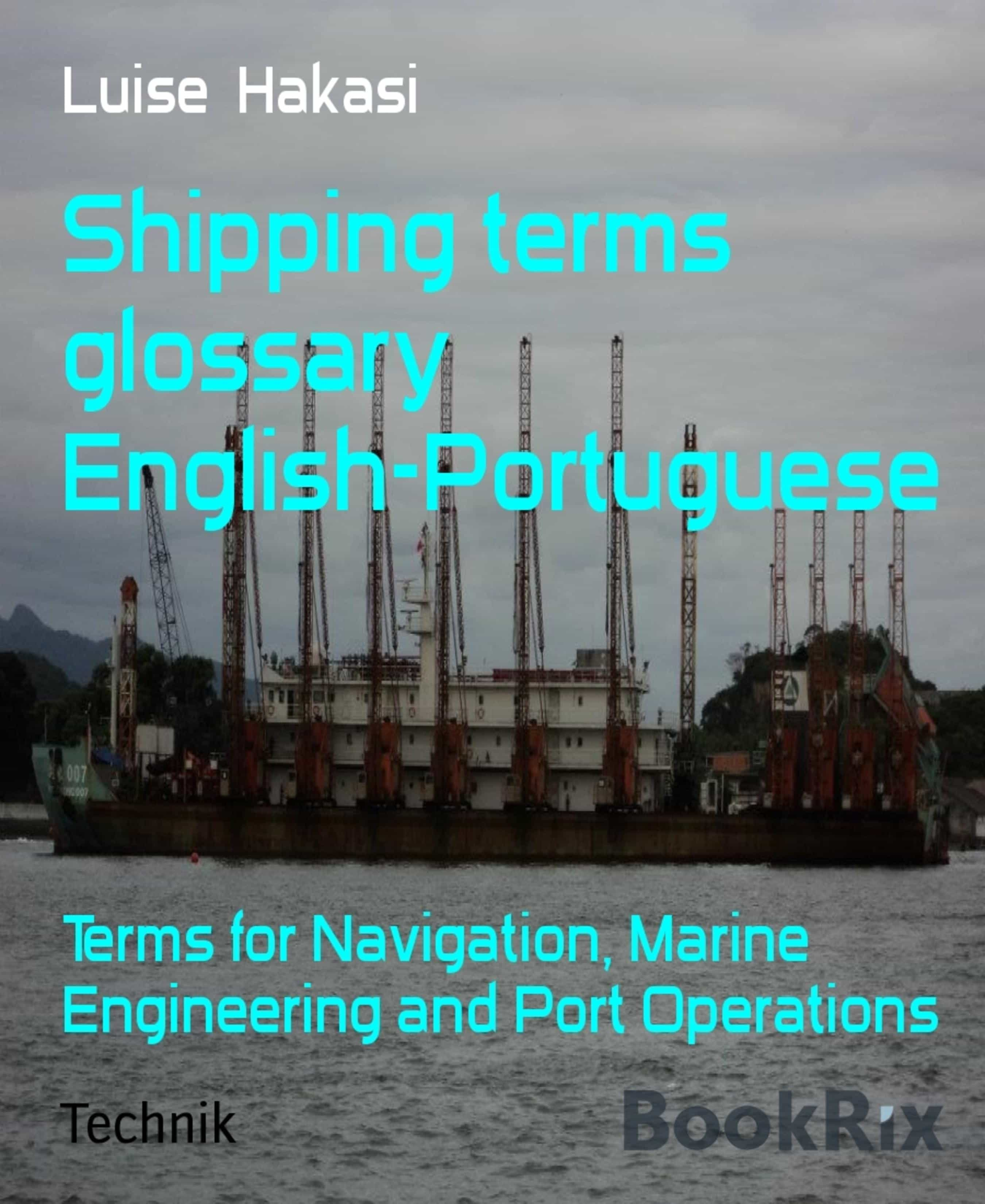 SHIPPING TERMS GLOSSARY ENGLISH-PORTUGUESE