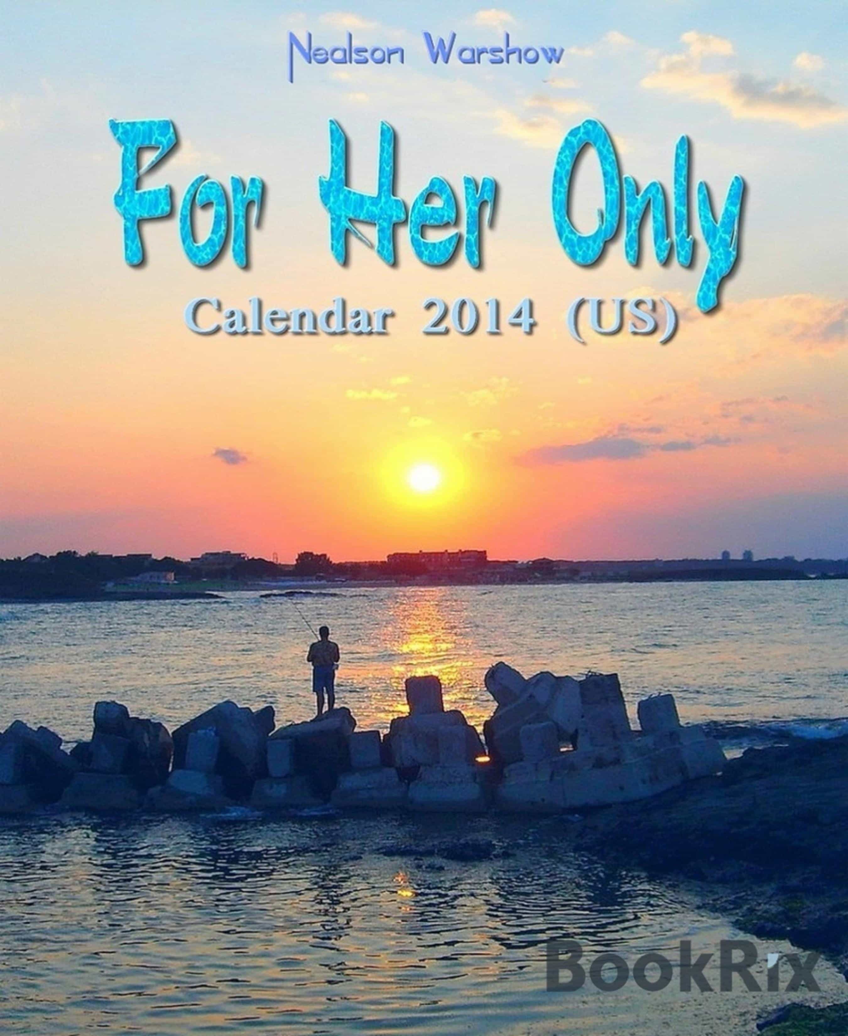 FOR HER ONLY: CALENDAR 2014
