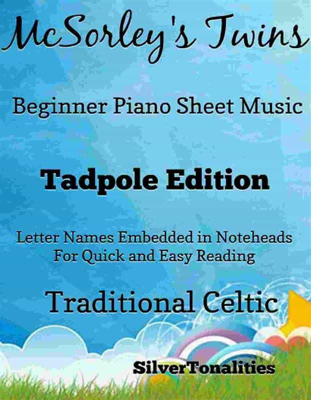 MCSORLEY'S TWINS BEGINNER PIANO SHEET MUSIC TADPOLE EDITION
