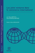 LES JOINT VENTURES DANS LE COMMERCE INTERNATIONAL