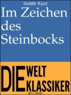 IM ZEICHEN DES STEINBOCKS
