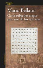 Carta sobre los ciegos para uso de los que ven (ebook)