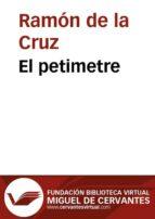 El petimetre (ebook)