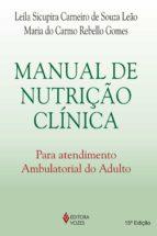 MANUAL DE NUTRIÇÃO CLÍNICA