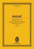 Serenade a 13 (ebook)