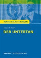 Der Untertan von Heinrich Mann. (ebook)