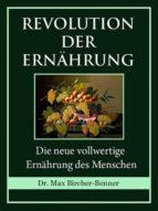 REVOLUTION DER ERNÄHRUNG