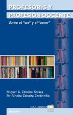Profesores y profesión docente (ebook)