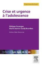 Crise et urgence à l'adolescence (ebook)