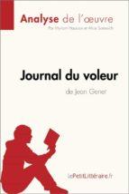 Journal du voleur de Jean Genet (Fiche de lecture) (ebook)