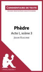 Phèdre de Racine - Acte I, scène 3 (ebook)