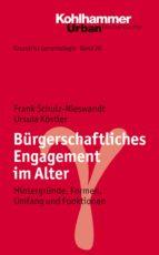Bürgerschaftliches Engagement im Alter (ebook)