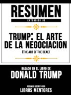 RESUMEN EXTENDIDO DE TRUMP: EL ARTE DE LA NEGOCIACIÓN (THE ART OF THE DEAL) BASADO EN EL LIBRO DE DONALD TRUMP