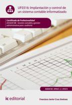Implantación y control de un sistema contable informatizado. ADGD0108  (ebook)