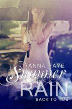 Summer Rain - Back To You (ebook)