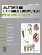 Anatomie de l'appareil locomoteur-Tome 1 (ebook)