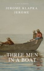 Three Men in a Boat (Active TOC, Free Audiobook) (A to Z Classics) (ebook)