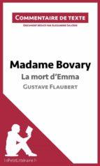 Madame Bovary de Flaubert - La mort d'Emma (ebook)