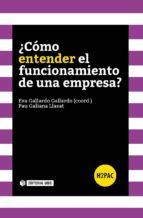 ¿Cómo entender el funcionamiento de una empresa? (ebook)