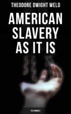 AMERICAN SLAVERY AS IT IS: TESTIMONIES