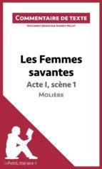 Les Femmes savantes de Molière - Acte I, scène 1 (ebook)