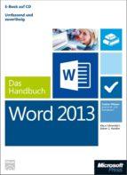 Microsoft Word 2013 - Das Handbuch (ebook)