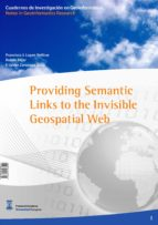 Providing semantic links to the invisible geospatial web