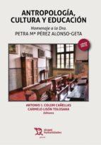 Antropología, Cultura y Educación (ebook)