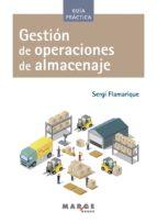 Gestión de operaciones de almacenaje (ebook)