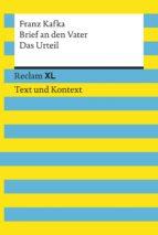 Brief an den Vater / Das Urteil (ebook)