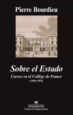 Sobre el Estado (ebook)