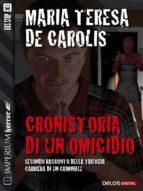 Cronistoria di un omicidio (ebook)