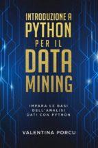 Introduzione a Python per il data mining (ebook)