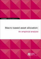 EIB WORKING PAPERS 2019/11 - MACRO-BASED ASSET ALLOCATION