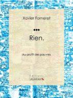 Rien (ebook)