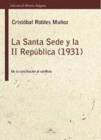 La Santa Sede y la II República (1931)