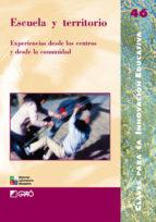 Escuela y territorio (ebook)