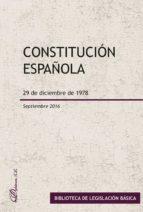 Constitución española. 29 de diciembre de 1978 (ebook)