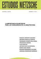 LA IMPORTANCIA DE NIETZSCHE PARA LAS VANGUARDIAS DE LA ARQUITECTURA (ebook)