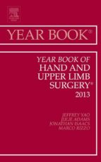 Year Book of Hand and Upper Limb Surgery 2013, E-Book (ebook)