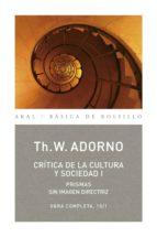 Crítica de la Cultura y de la Sociedad I (ebook)